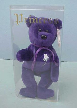 RARE 1997 TY Princess Diana Beanie Baby, Made In China, P.E. Pellets for Sale in West Warwick, RI