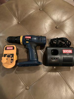 Ryobi cordless drill for Sale in Rancho Cucamonga, CA