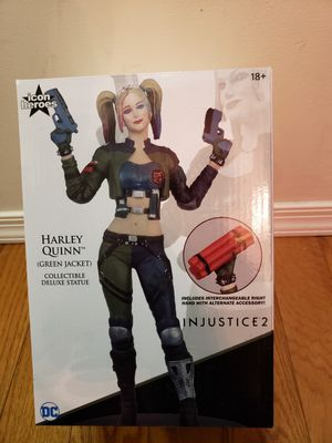 DC Comics Harley Quinn Injustice 2 Statue for Sale in Philadelphia, PA