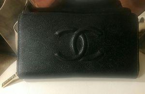 Black leather wallet for Sale in Las Vegas, NV