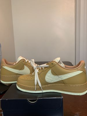 Nike Air Force 1 Low Elemental Gold Light Cream Men's Shoes Size-12 for Sale in San Diego, CA