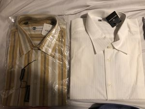 Men's new dress shirts. for Sale in Humble, TX