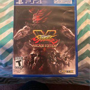 PS4 Street Fighter 5 (Arcade Edition) for Sale in Ellenwood, GA