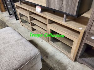 NEW, TV Stand / Entertainment Center for TVs up to 95in TVs, Hazelnut , SKU# 172174TV for Sale in Huntington Beach, CA