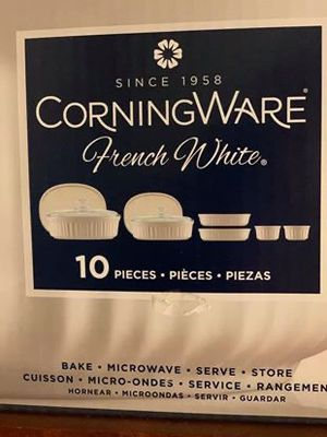 CorningWare 10 piece set for Sale in Cleveland, OH