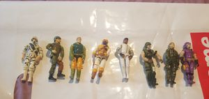 8 1980's G.I. Joe action figures for Sale in Los Angeles, CA