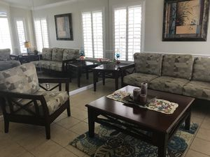 Living Room Set (7pc) for Sale in Fresno, CA