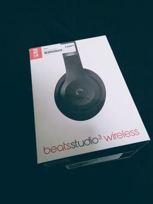 Beats by Dr. Dre - Beats Studio³ Wireless Noise Canceling Headphones - Matt Black for Sale in Las Vegas, NV