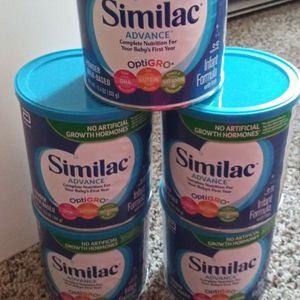 5 Unopened 12.4 Oz Cans Of Similac for Sale in Hoquiam, WA