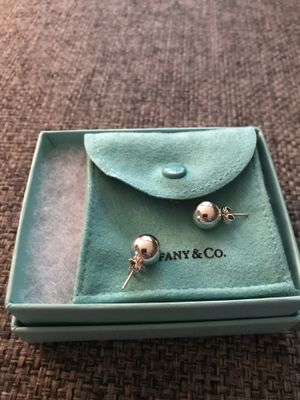 Tiffany & Co Sterling Silver Ball Stud earrings for Sale in Gaithersburg, MD