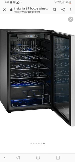 Insignia 29 bottle wine cooler brand new in box for Sale in Lancaster, KY
