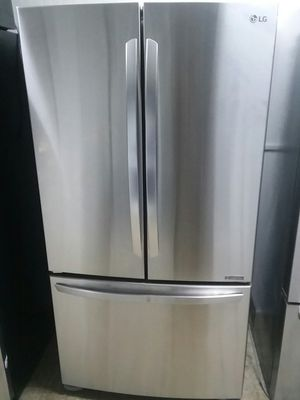 LG French door refrigerator Wi-Fi connectivity for Sale in Revere, MA