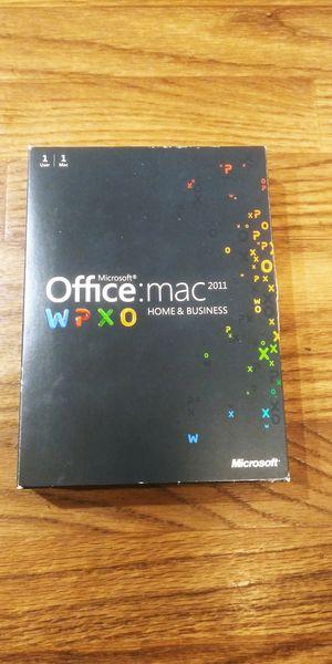 Microsoft Office Mac 2011 for Sale in Glendale, AZ