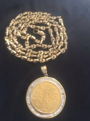 Gold Chain/Centenario for Sale in Arcadia, CA