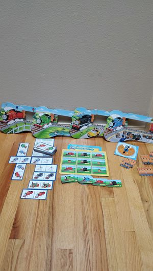 Thomas the Train 4 game collection plus two puzzles for Sale in Renton, WA