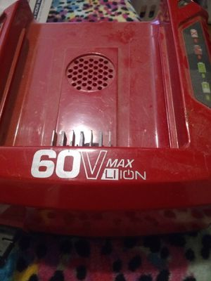 Snapper 60v battery charger for Sale in Madison Heights, VA