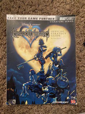 Kingdom Hearts strategy guide book for Sale in Tempe, AZ