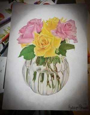 Rose's original artwork for Sale in Wetumpka, AL