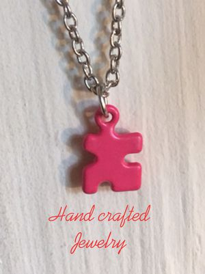 Handmade Autism Awareness Necklace for Sale in Morrilton, AR