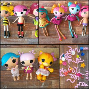 Lalaloopsy Lot 10 Dolls and accessories for Sale in Federal Way, WA