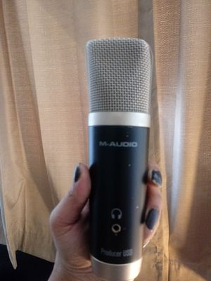 M-Audio Producer USB Microphone for Sale in Las Vegas, NV
