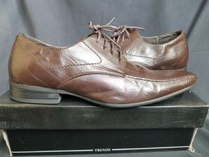 Trendz Brown Mens Dress Shoes for Sale in San Jacinto, CA