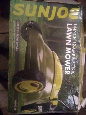 "Sun joe/SunJoe very light corded mower 14"" with bag for Sale in Pittsburgh, PA"