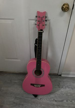 Daisy Rock Pink Acoustic Guitar for Sale in CT, US