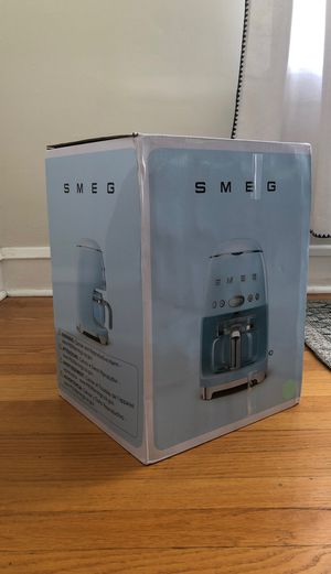 Smeg Coffee Maker - NEVER USED for Sale in Chicago, IL