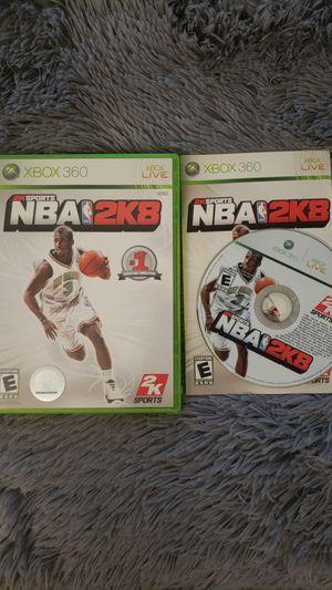2k Sports NBA 2K8; Xbox 360 Game for Sale in Sterling, VA
