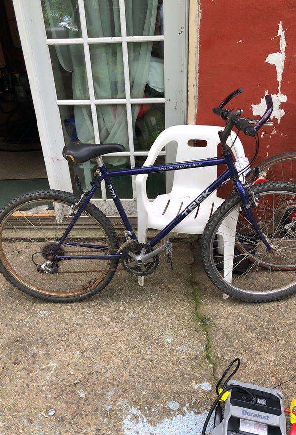 Mountain track trek 820 bike for sale