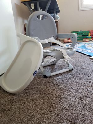 Baby seat, toddler booster and baby - toddler floaties for Sale in Rancho Cucamonga, CA
