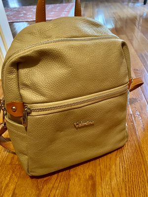 Made in Italy! Valentina Genuine Leather Bag/Backpack for Sale in Lorton, VA
