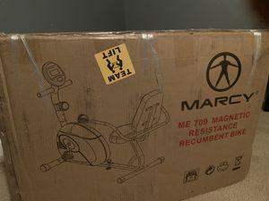 Marcy Recumbent Exercise Bike ME-709 for Sale in Marietta, GA