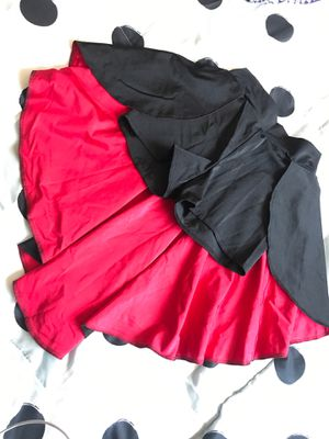 Black and red short with cape. for Sale in Phoenix, AZ