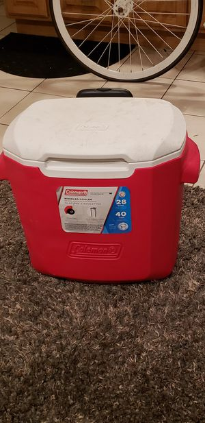 Coleman wheeled cooler for Sale in Daly City, CA
