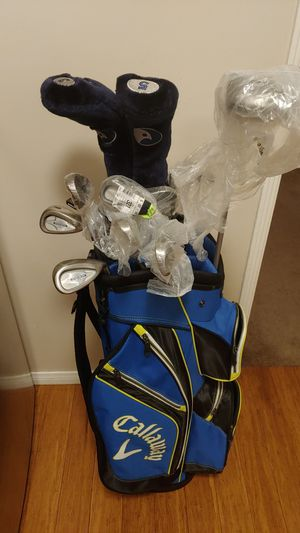 Right handed golf clubs with bag for Sale in Whittier, CA