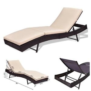 Brand New In Box Outdoor Rattan Chaise Lounge Chair for Sale in Los Angeles, CA