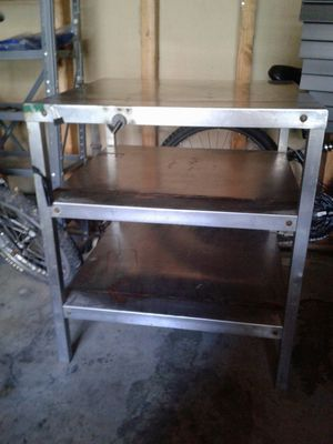 One piece stainless steel table for Sale in Lynnwood, WA