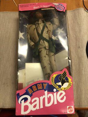 Army Barbie stars n stripes for Sale in Anaheim, CA