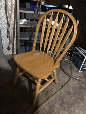 Wooden chair for Sale in Milan, IL