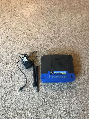 Linksys 2.4 GHz WRT54GL Broadband Router for Sale in Seattle, WA