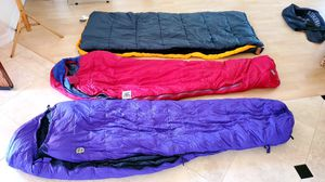 "Best Mummy sleeping bag for backpacking & camping. Light & warm. Compression Sack 12""x6"" for Sale in El Cajon, CA"