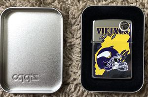 Vikings Zippo for Sale in Clinton Township, MI