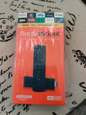 Android 4K Fire TV Stick for Sale in Irving, TX