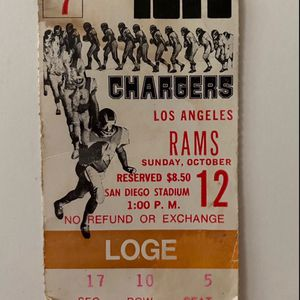 Padres Nat'l Championship Ticket Stub for Sale in Encinitas, CA
