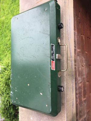 Coleman double propane camp stove for Sale in St. Louis, MO