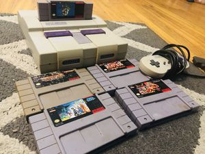 Snes Nintendo lot with games for Sale in Chico, CA