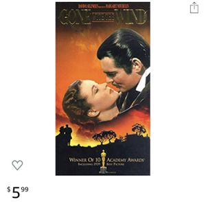 Movies gone with the wing drama dvds cd dvd for Sale in Glendale, AZ