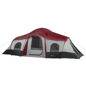 10-Person Cabin Tent with 3-Room and 2 Side Entrances For Outdoor Camping for Sale in Henderson, NV